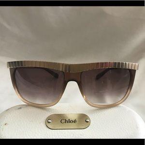 Chloe Sugi Sunglasses CL2186 in brown / gold